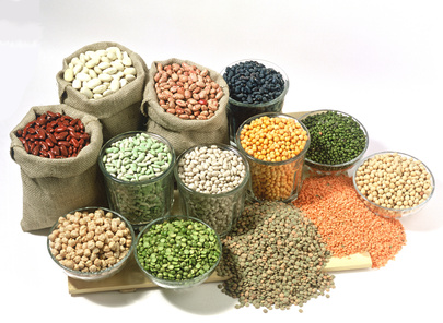 An interesting assortment of Beans & Legumes